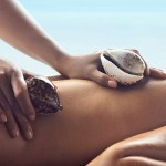 shell massage (massaggio con conchiglie)