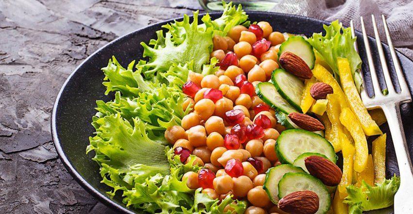 Dieta vegana esempio menu